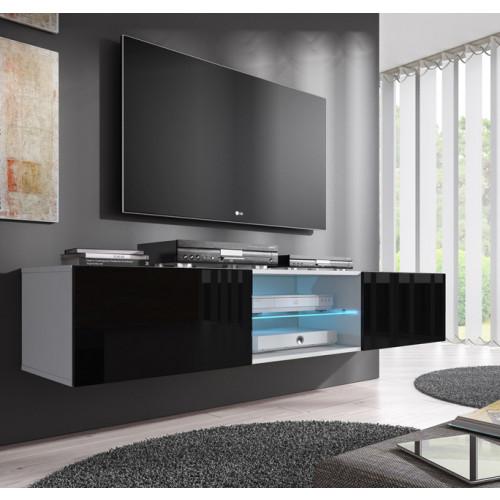 mobile tv tenon bianco nero