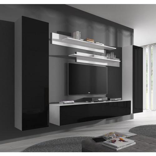 conjunto meubles nerea blanco negro b1