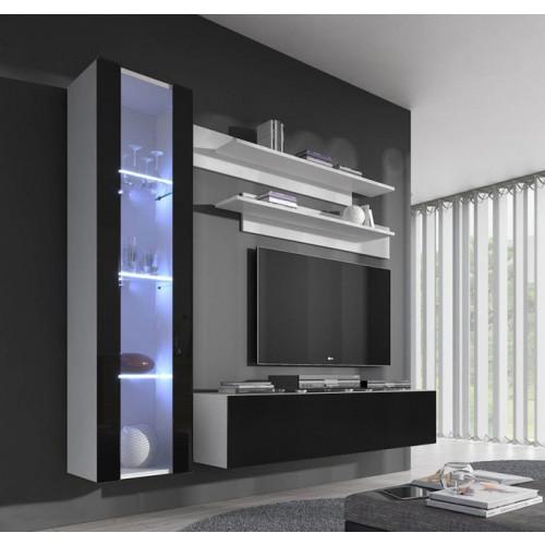 conjunto meubles nerea blanco negro g2