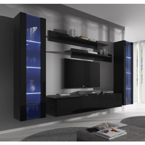 conjunto meubles nerea negro b2