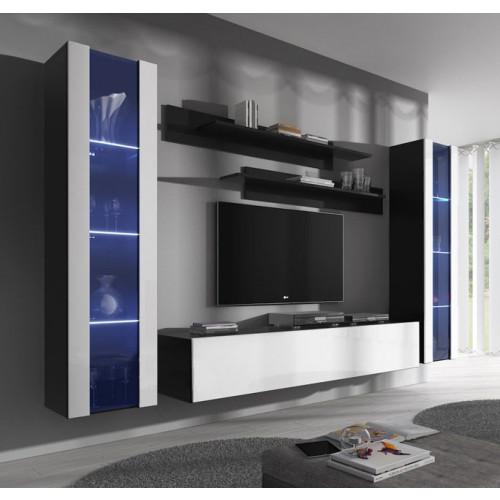 conjunto meubles nerea negro blanco b2