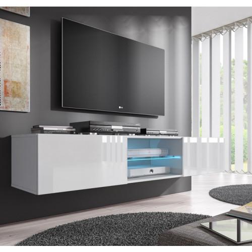 mobile tv tenon bianco