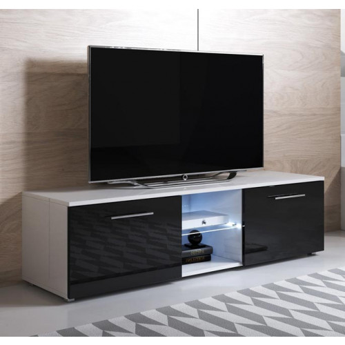 mueble-tv-denver-140-blanco-y-negro