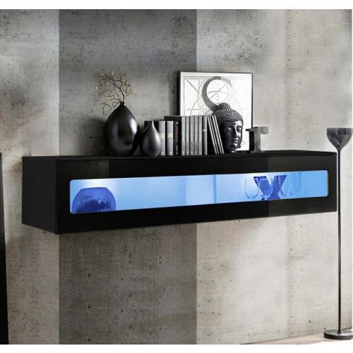 mueble tv kaira h150cr negro